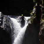 Canyoning in Italien