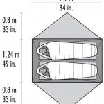 MSR Hubba Hubba Zelt