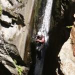 Wasserutsche im Auerklamm